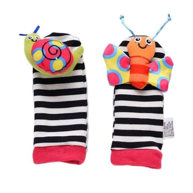 Insect Wristband Socks Rattle - rattle & teether