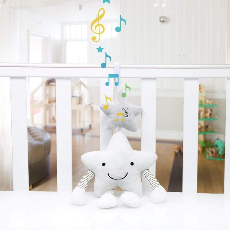 Musical Star Rattle Toy - rattle & teether