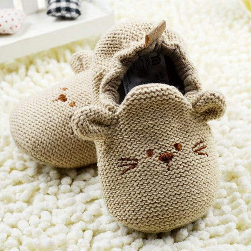 Newborn Cute Animal First Shoes - shoes