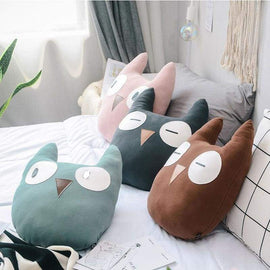 Owl Decoration Pillow - pillows