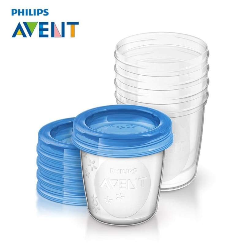 Philips AVENT 5pcs/set Baby Food Storage Cup - eat & drink