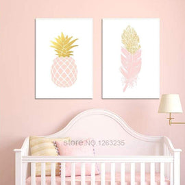 Pink Pattern Wall Poster - posters