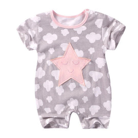 Cute Star Jumpsuit Sleepwear