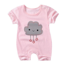 Cute Grey Cloud Jumpsuit Sleepwear