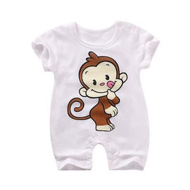 Cute Monkey Jumpsuit Sleepwear