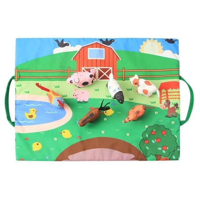 Plush Toy Foldable & Portable Play Mat