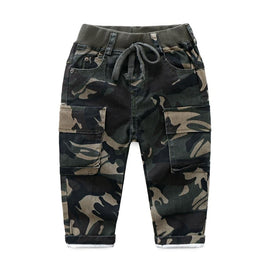 Army Camouflage Green Trousers