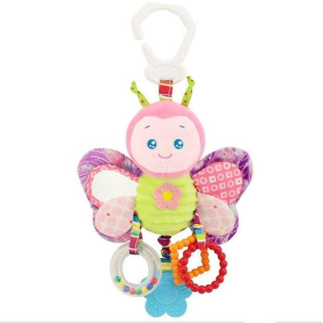 Rattle & Teether Butterfly - Butterfly - rattle & teether