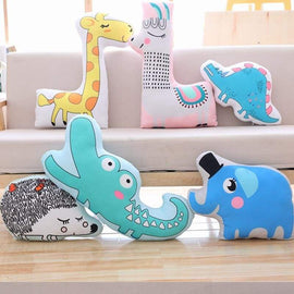 Soft Animal Shape Pillow - pillows