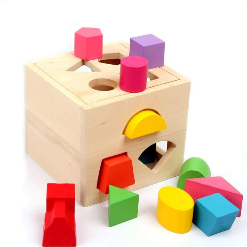 Sorting Cube Box Educational