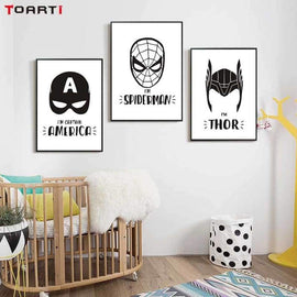 Superhero Wall Posters Decoration - posters