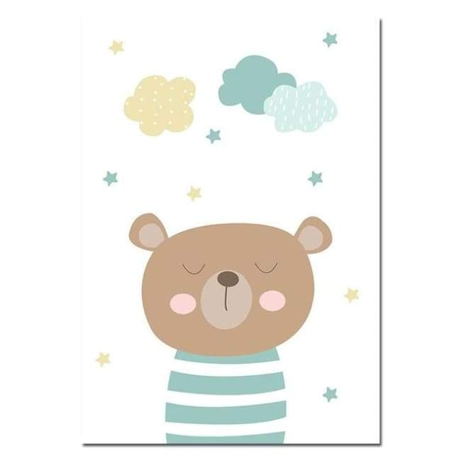 Teddy Bear Quote Wall Posters - posters