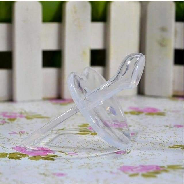 Transparent Soft Silicone Pacifier - pacifier