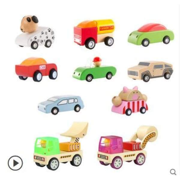 Wooden Toy Vehicles - activity toys