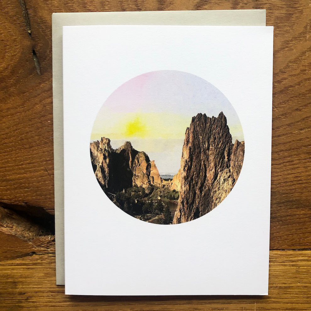 Lark Press - Smith Rock, Oregon Card