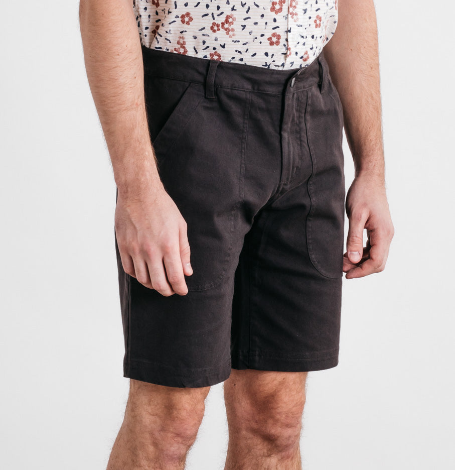 Charcoal Utility Short