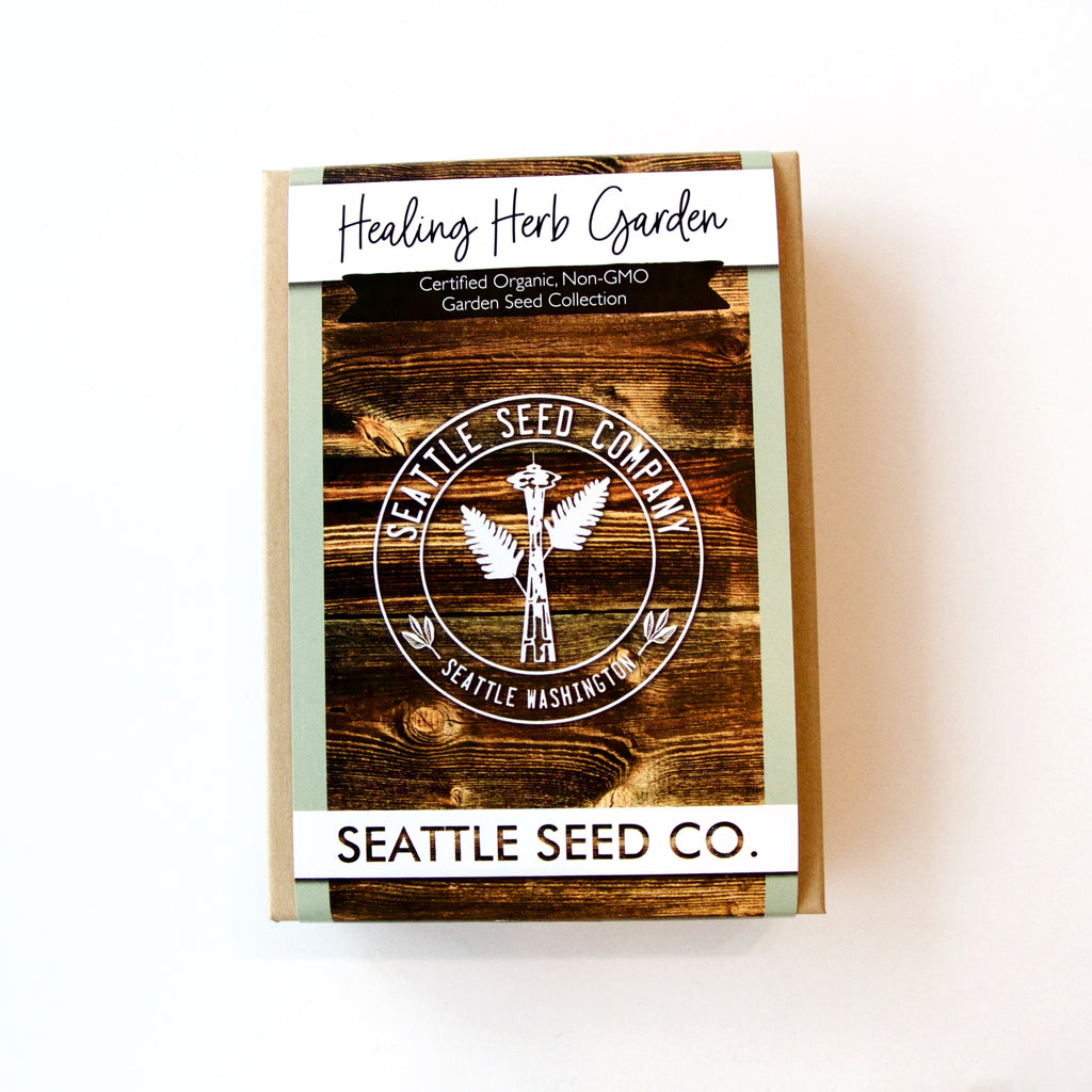 Seattle Seed Co. - Organic Seed Collection - Healing Herb Garden