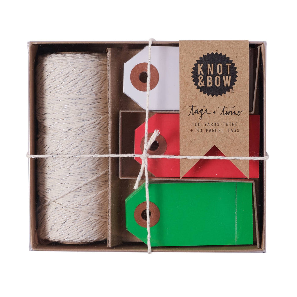 Holiday Tag + Twine Box