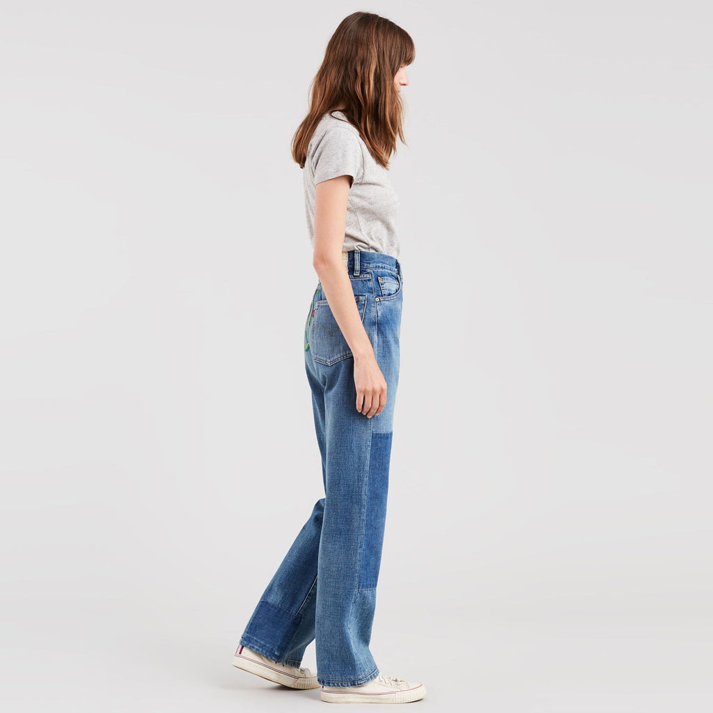 Levi's Premium 701 Embroidered Jeans