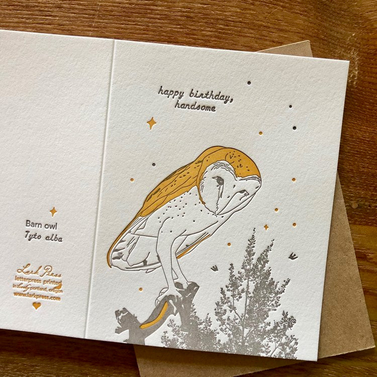 Lark Press - Happy Birthday Handsome Card