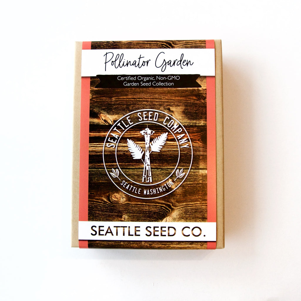 Seattle Seed Co. - Organic Seed Collection - Pollinator Garden