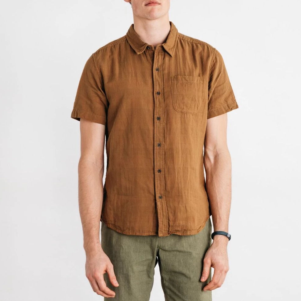Tan Doublecloth Shirt