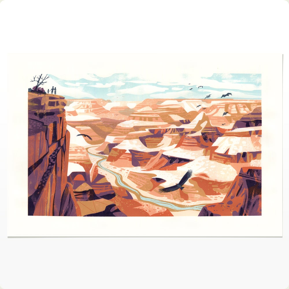 Grand Canyon Screen Print