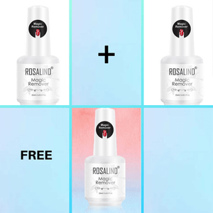 New! Magic Gel Polish Remover - Healthier and Safer for Nails