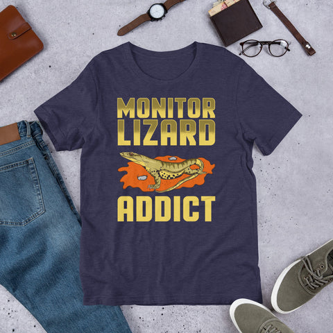 """Lizard Addict"" Short-Sleeve Unisex T-Shirt"