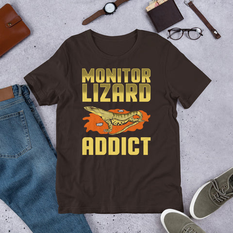 "Image of ""Lizard Addict"" Short-Sleeve Unisex T-Shirt"