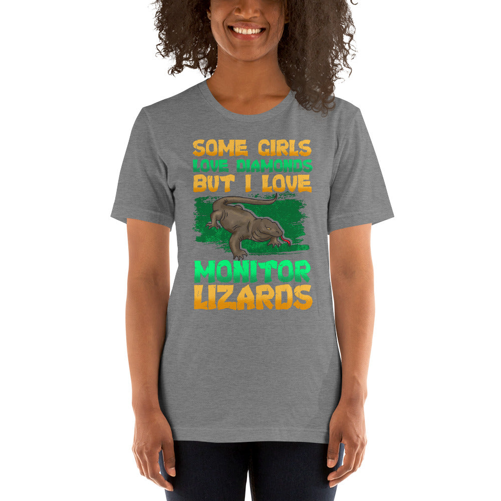 """I Love Lizards"" Short-Sleeve Unisex T-Shirt"