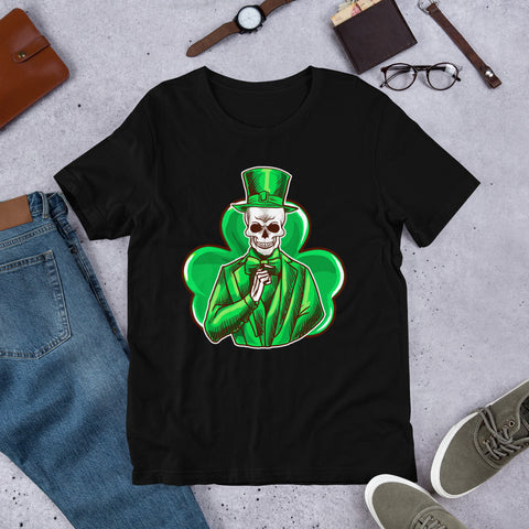 "Image of ""St. Patrick's Day - Irish To The Bone"" Short-Sleeve Unisex T-Shirt - see more colors and sizes"