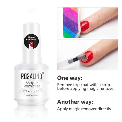 Image of New! Magic Gel Polish Remover - Healthier and Safer for Nails