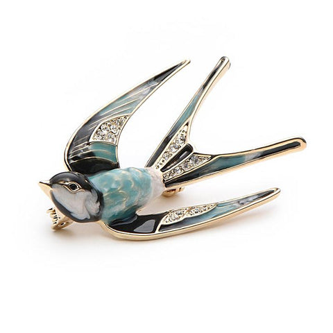 Image of Vintage Swallow brooch
