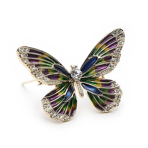Image of Vintage Butterfly brooch