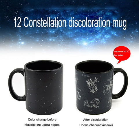 Hidden Constellations Zodiac Mug