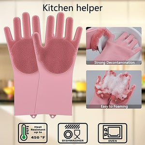 World's Universal Magic Silicone Gloves