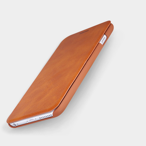 Royal Leather Wallet iPhone Flip Case