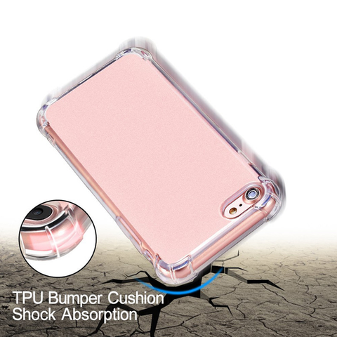 Protected Ultra Thin Transparent iPhone Case