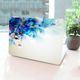 Charming Floral Macbook Case
