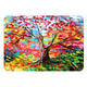 Colorful Tree Oil Painting Macbook Case