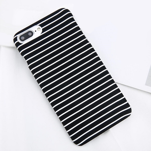 White Stripes iPhone Case