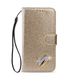 Glitter Leather Wallet iPhone Case