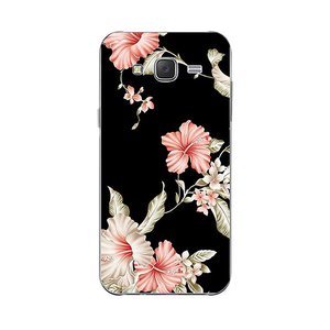Floral Black Samsung Galaxy Case