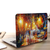 Autumn Road Oil Painting Macbook Case