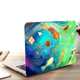 Cute Fish Oil Painting Macbook Case