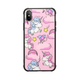Tempered Glass Unicorn iPhone Case