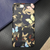Luxury Butterfly Camouflage Leather iPhone Case