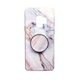 Personalized Pop Stand Marble Samsung Phone Case