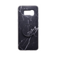 Personalized Pop Stand Black Marble Samsung Phone Case